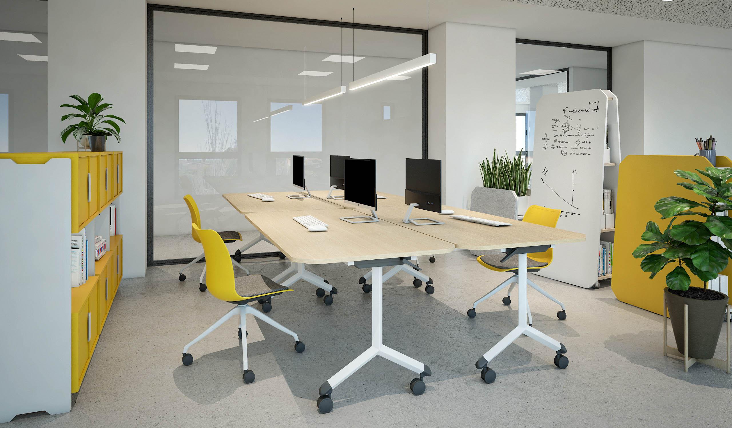 Vintiquatre Colección Tóteem Teepee Plygu Ulkia office almacenaje producto mobiliario diseño