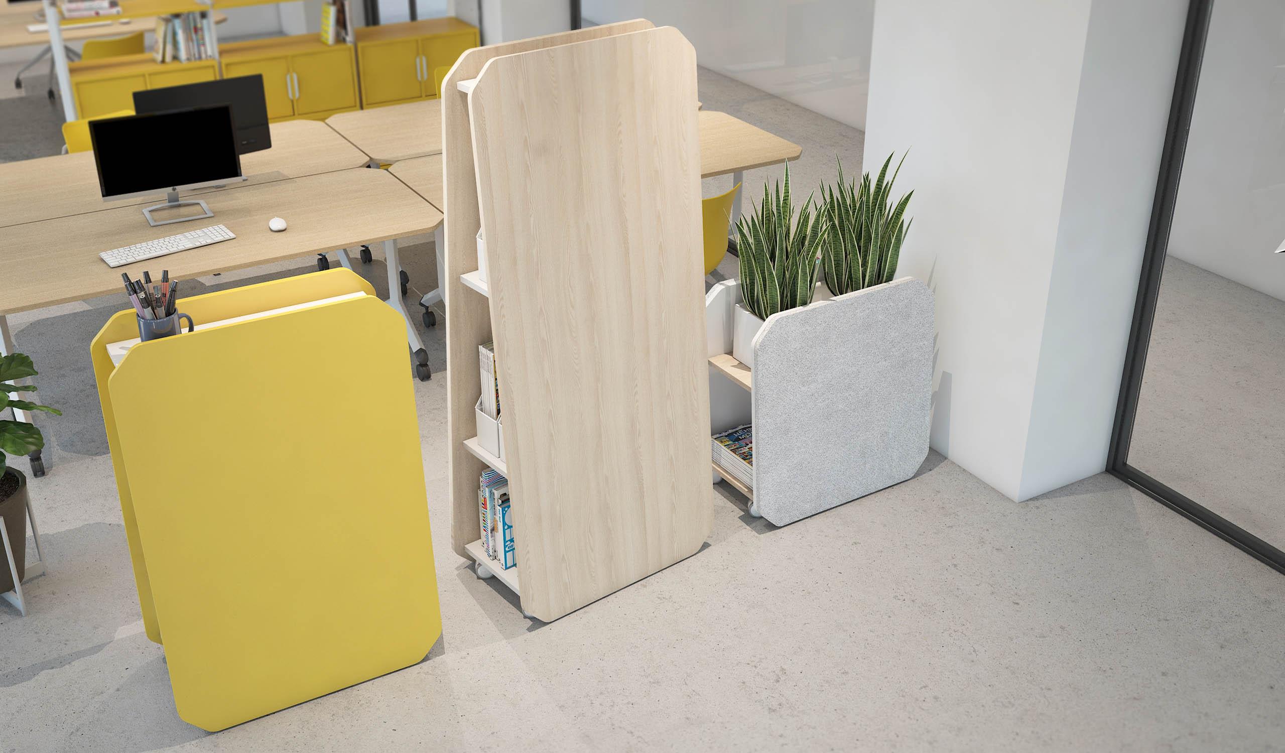 Vintiquatre Colecciones Tóteem Teepee Plygu Ulkia collage office almacenaje producto mobiliario diseño