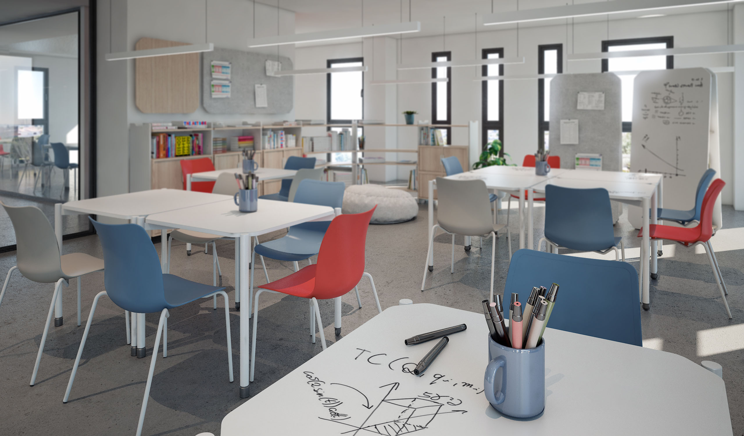 Vintiquatre Colecciones Tóteem Teepee Grupp Ulkia collage office almacenaje producto mobiliario diseño