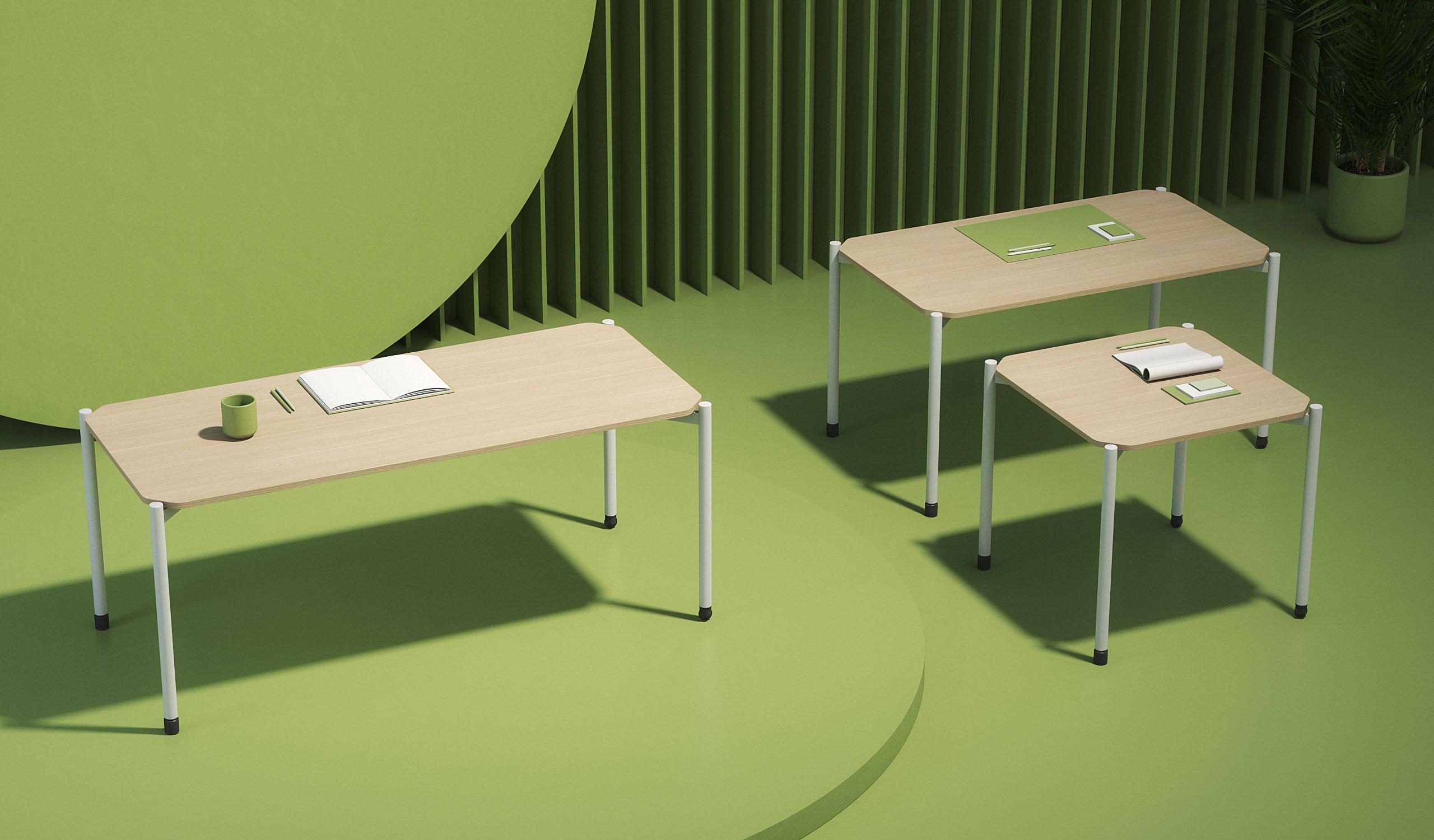 Colección mesas Grupp Vintiquatre
