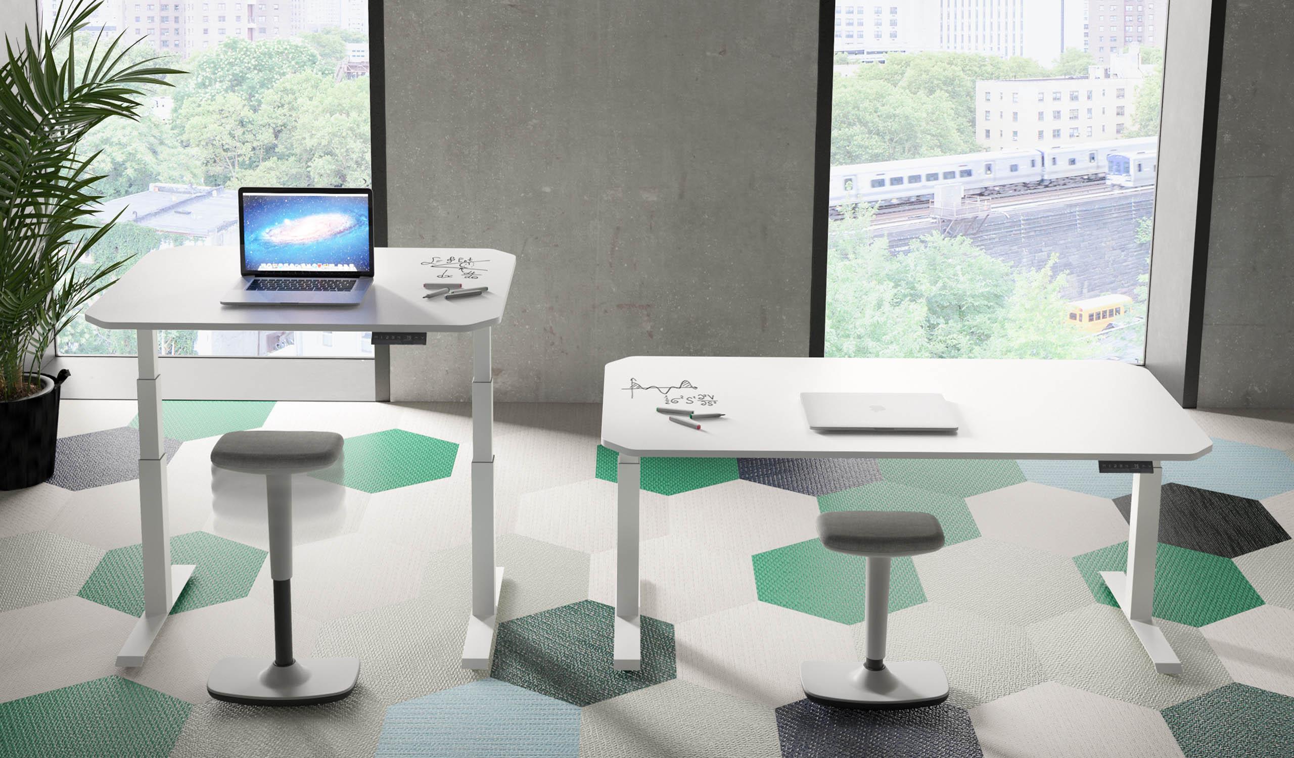 Vintiquatre Colecciones Upp y Tritt collage office producto mobiliario diseño